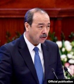 Абдулло Арипов, премьер-министр Узбекистана