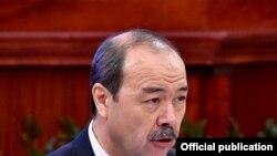 Абдулло Орипов, нахуствазири Узбекистон.