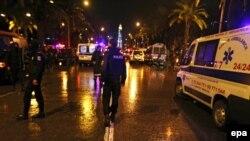 Тунис көшесіндегі полиция қызметкерлері. 24 қараша 2015 жыл. (Көрнекі сурет.)