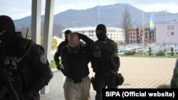 Сараево - Полициска акција против вахабисти.