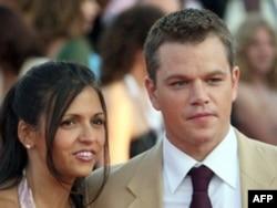 Matt Damon (sağda)