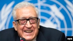 The United Nations-Arab League's Syria envoy Lakhdar Brahimi