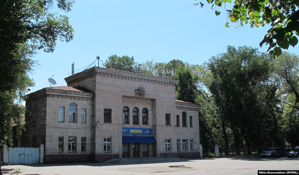 """Kazakhstan - House of Culture """"Kolos"""". Almaty, July 2020."""