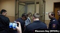 Анастасія Шевченко в залі суду, Ростов-на-Дону, Росія, 23 січня 2019 року