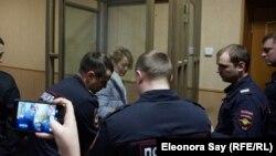Анастасия Шевченко в зале суда. 23 января 2019 года