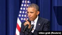 الرئيس الاميركي باراك اوباما في قمة مكافحة التطرف في 18 شباط 2015