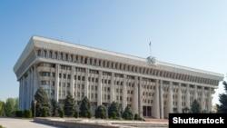 Здание Жогорку Кенеша Кыргызстана.