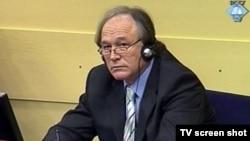 Vlastimir Đorđević u sudnici