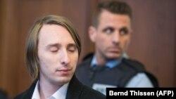 Сергій В. на суді в Дортмунді, Німеччина, 8 січня 2017 року