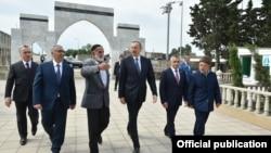 İlham Əliyev Nardaran kəndində