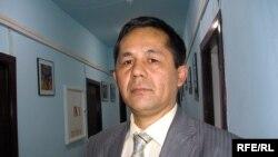 Құттыбек Аймахан, журналист, 1986 жылғы желтоқсан толқуына қатысушы. Алматы, 11 желтоқсан 2008 ж.