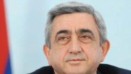 Armenia -- President Serzh Sarkisian, undated