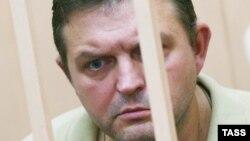Бывший губернатор Кировской области Никита Белых, обвиняемый в получении взятки в размере 400 тысяч евро, во время рассмотрения ходатайства о продлении срока ареста в Басманном районном суде.