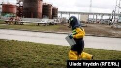 Учения на Белорусской АЭС. Архивное фото.