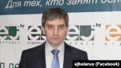 Journalist Syarhey Satsuk