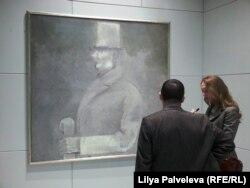 """Соломон Никритин. """"Человек в цилиндре"""", 1927 г."""
