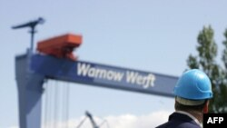Верфи Wadan Yards Group в Варнемюнде