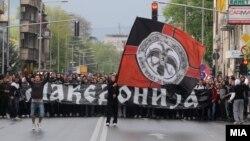 Протести во Скопје по петкратнопто убиство во Смилковци.