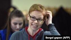 Marina Zolatava, editoare șefă a portalului independent de știri Tut.by (foto arhivă)