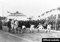Забег на 100 мэтраў на Алімпіядзе 1896 году ў Атэнах