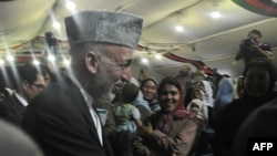 Karzai has promised to focus on security, reconstruction, and improved governance if he wins another term.