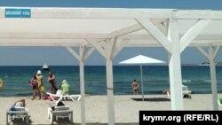 Отдых на берегу моря в поселке Черноморское