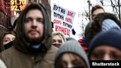 Протестите во Русија голем предизвик за моќта на Путин