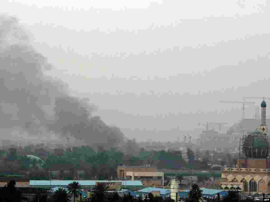 В Багдаде произошли несколько взрывов - более ста погибших