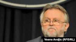 Dušan Vujović na konferenciji za novinare, foto: Vesna Anđić