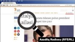 Azadlıq.org açar sözlərlə bloklanır.