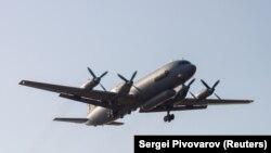 Самолет Ил-20 российских вооруженных сил.