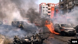 Եգիպտոսի գլխավոր դատախազի մեքենայի պայթյունի վայրը