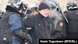 Немири и апсења во градот Жанаозен во западен Казахстан.