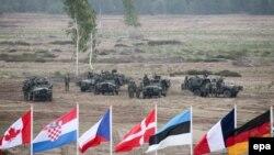 Учения сил быстрого реагирования НАТО на территории Польши 18 июня 2015 годы