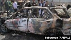 Кабул, место взрыва