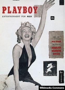 """Plaýboý"" žurnalynyň birinji neşiri. 1953-nji ýyl."