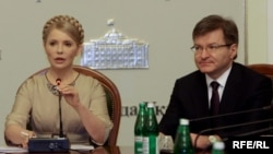 Юлія Тимошенко і Григорій Немиря