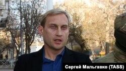 Андрей Филонов после задержания, архивное фото
