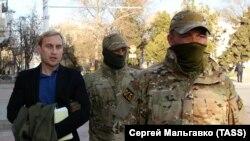 Затримання глави російської адміністрації Євпаторії Андрія Філонова, 3 квітня 2019 року
