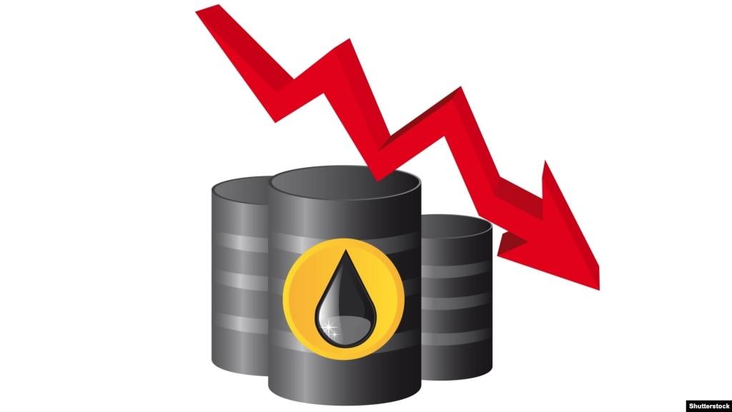 Бездействие ОПЕК вызвало значительный обвал цен на нефть
