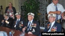 Визит ветеранов арктических конвоев в Крым