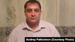 Житель Алматинской области Андрей Пахотнов, задержанный во время антиправительственного митинга в Алматы в день президентских выборов 9 июня.