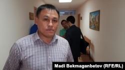 Айдын Егеубаев, астаналық белсенді. Астана, 27 қыркүйек 2016 жыл.