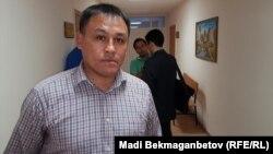 Белсенді Айдын Егеубаев. Астана, 27 қыркүйек 2016 жыл.