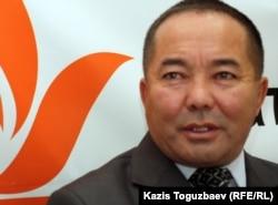 Карибай Кусаинов, бывший заключенный астанинской тюрьмы. Алматы, 26 октября 2011 года.