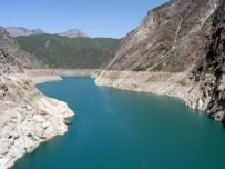 Kyrgyzstan's Toktogul Reservoir is less than half-full (RFE/RL)