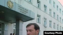 Uzbekistan -- Uzbek human rights activist Dmitriy Tihonov, undated