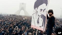 Обличчя Іранської революції. Тегеран, 9 жовтня 1978 року