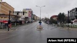 Prazne ulice u Prištini, 24 mart 2020