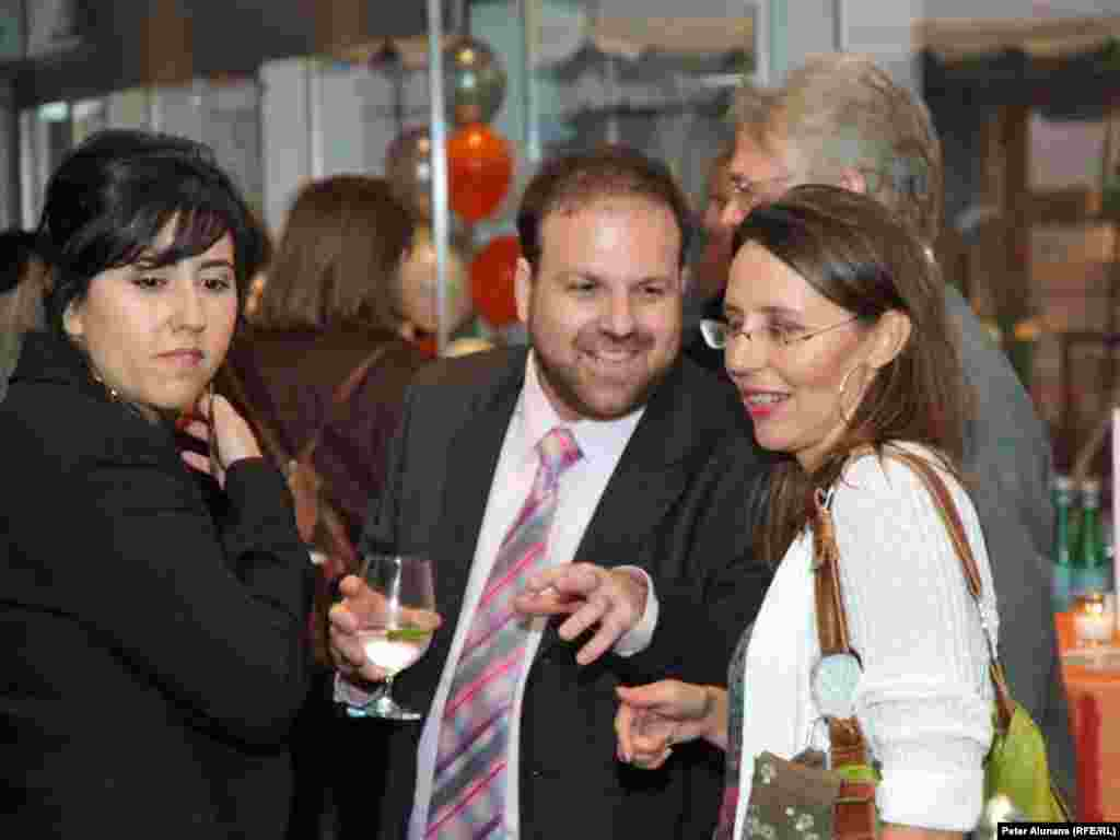 Almost 200 guests attended the RFE 6th anniversary reception on September 28.